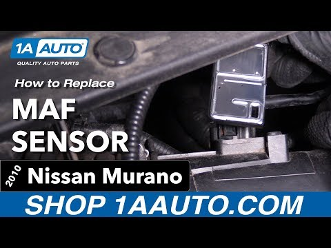 How to Replace MAF Sensor 09-14 Nissan Murano