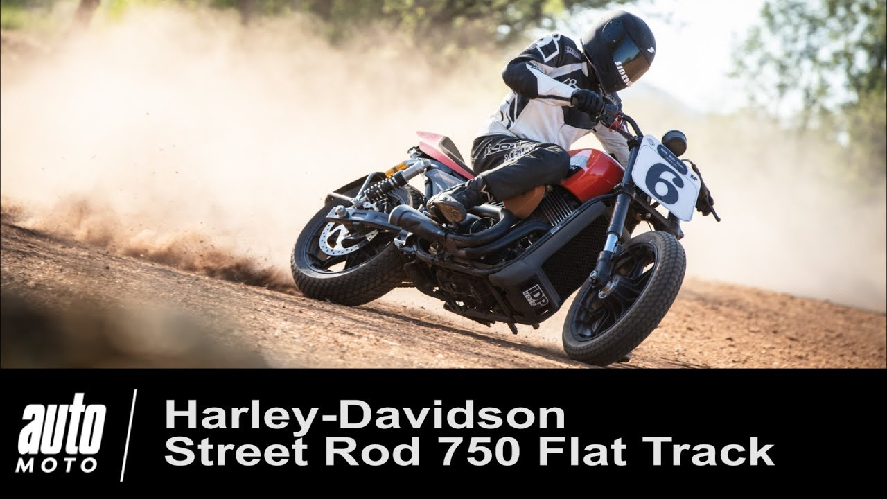 Harley-Davidson Street Rod 750 / video