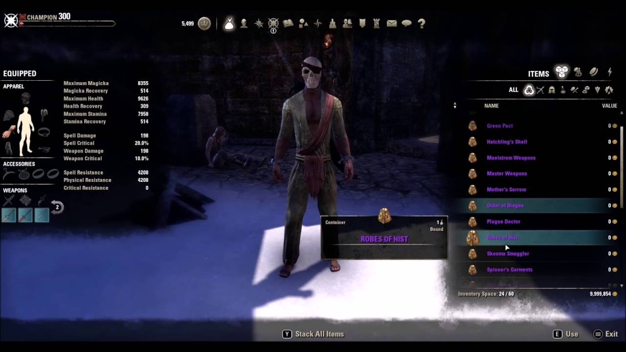 ESO Overland Sets For Update 12 One Tamriel PTS