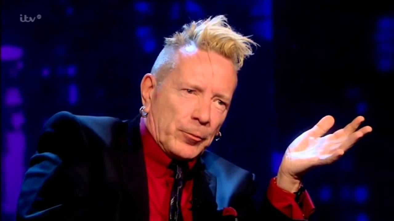 Image result for Johnny Rotten