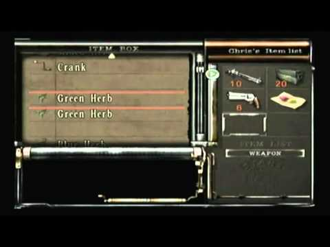 Resident evil remake standard run walkthrough chris part for Plante 42 chris