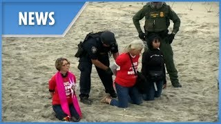 US arrests faith leader activists who get too close to Mexico border