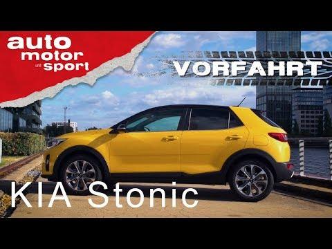 Kia Stonic: Noch ein SUV?!– Vorfahrt| auto motor und sport