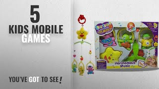 Top 10 Kids Mobile Games [2018]: MousePotato Sweet Cuddles Cot Hanging Music Box With Rotating