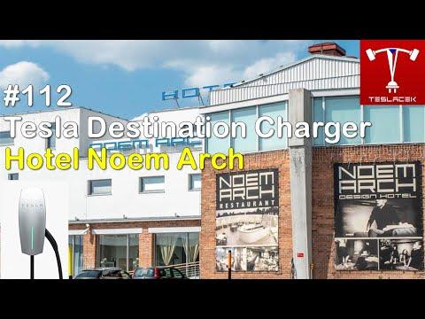 #112 Hotel Noem Arch (Brno) Tesla DCH | Teslacek