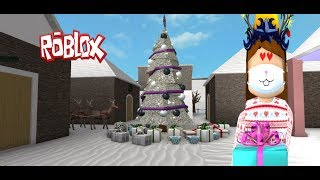 THE TRAVIESA FAMILY IN CHRISTMAS (ROLEPLAY ) WELCOME TO BLOXBURG//ROBLOX