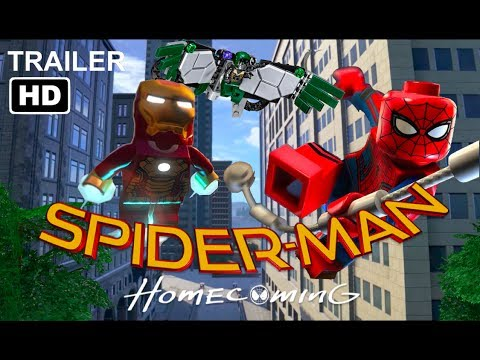 LEGO SPIDERMAN HOMECOMING - OFFICIAL TRAILER