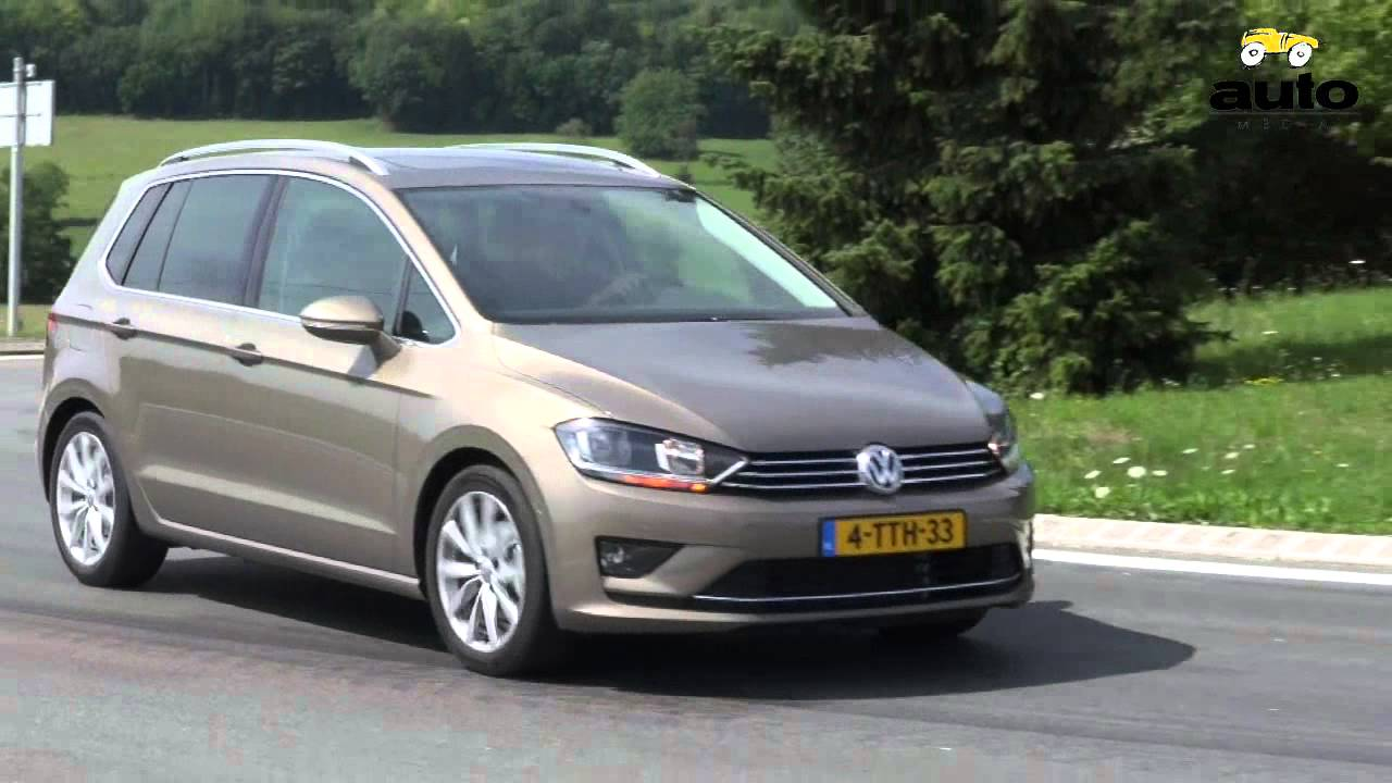 volkswagen golf sportsvan 1 2 tsi review 2014 youtube. Black Bedroom Furniture Sets. Home Design Ideas