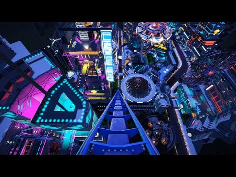 Planet Coaster - Alien City POV