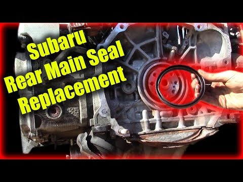 Subaru Rear Main Seal Replacement