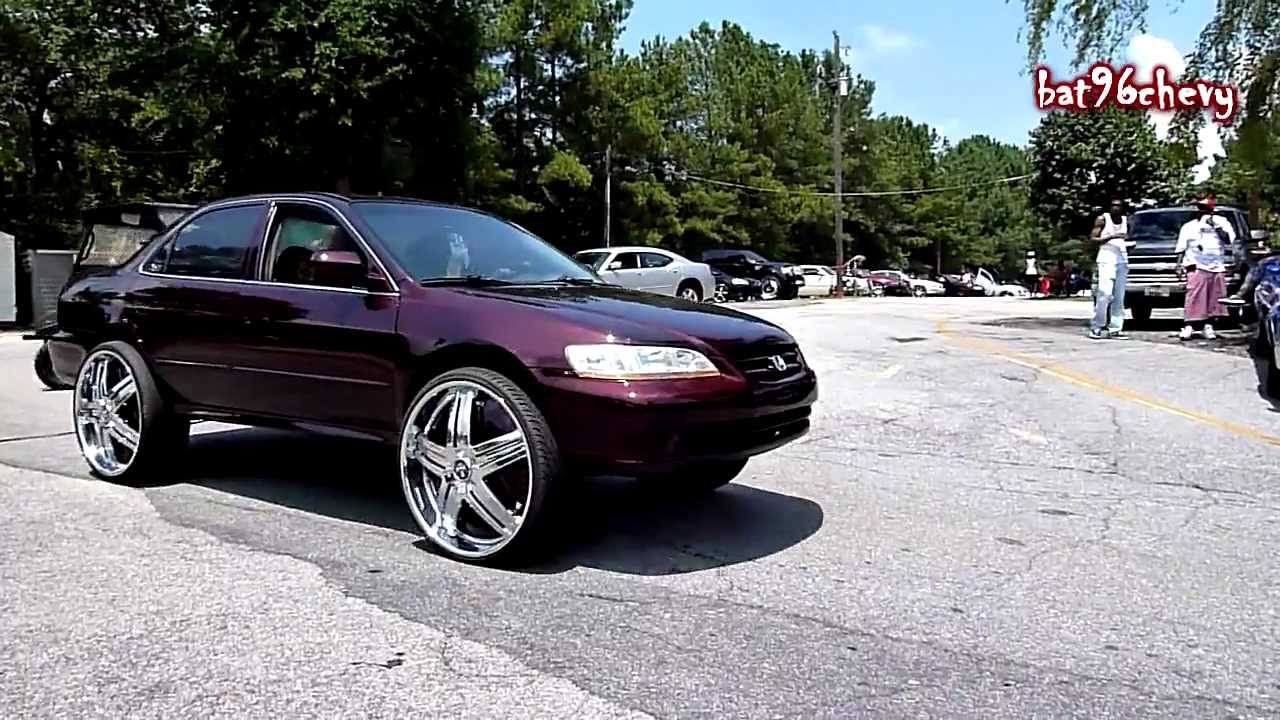 Honda Accord On 26 Quot Dub Delusion Floaters Beating Hd Youtube