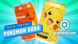 Taste Testing Pokemon Soda - Gamescom 2019