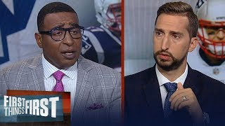 Gronk made the right decision to retire - Cris Carter | NFL | FIRST THINGS FIRST