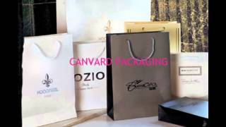 High end paper bag_shopping bag custom_paper printing_canvard packaging_www.cosmetic-bottles.com Thumbnail