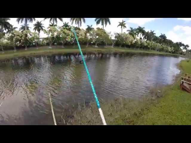 Bass fishing with Zoom Super Fluke