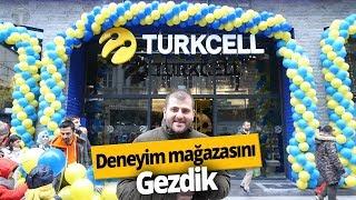 Yeni Turkcell Deneyim Mağazasını gezdik! - Yeni Mağazada Neler Var?