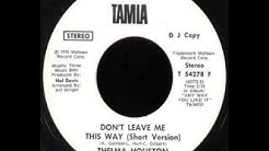 Thelma Houston - Don't Leave Me This Way (Extended Mix)