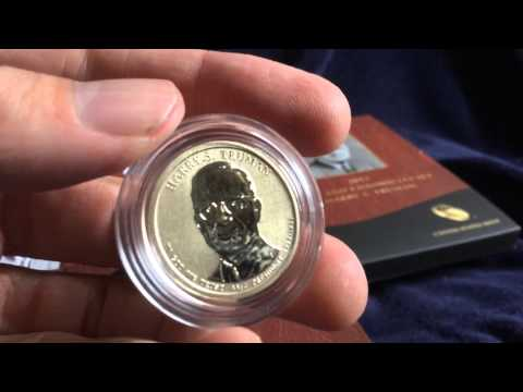 2015 Coin and Chronicles Set: Harry S Truman With Reverse Proof Presidential Dollar