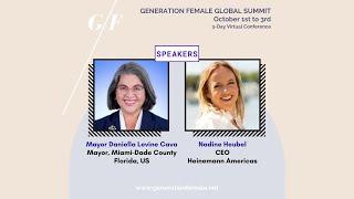 Day 1 Trailblazers, Leaders, Pioneers - Nadine Heubel & Mayor Daniella Levine Cava