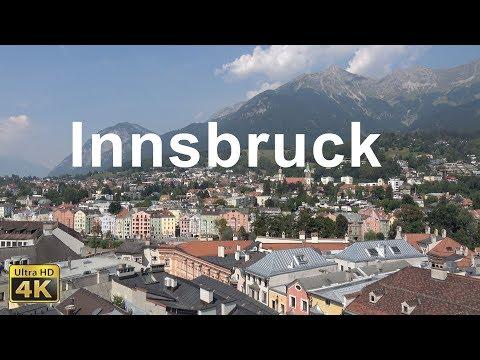 Innsbruck in Tirol in 4K