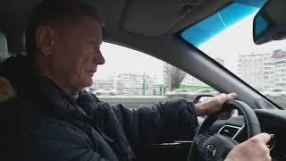 Тест драйв Toyota Camry XV70 2.5л