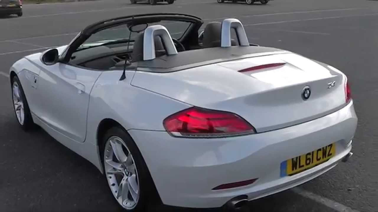 Bmw Z4 35i Sdrive Alpine White Youtube