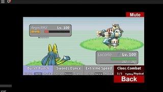 Roblox Project Pokemon - Tнe Boss Of All Entities!