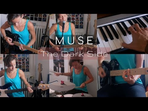 Muse - The Dark Side | One Girl Band Rock Cover