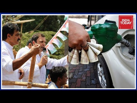'Global Fuel Prices Down But Up In India': Rahul Gandhi In Kolar Against Fuel Price Hike