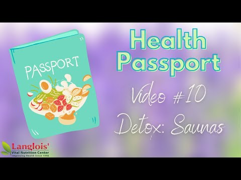 Saunas are a MUST DO for your Health!