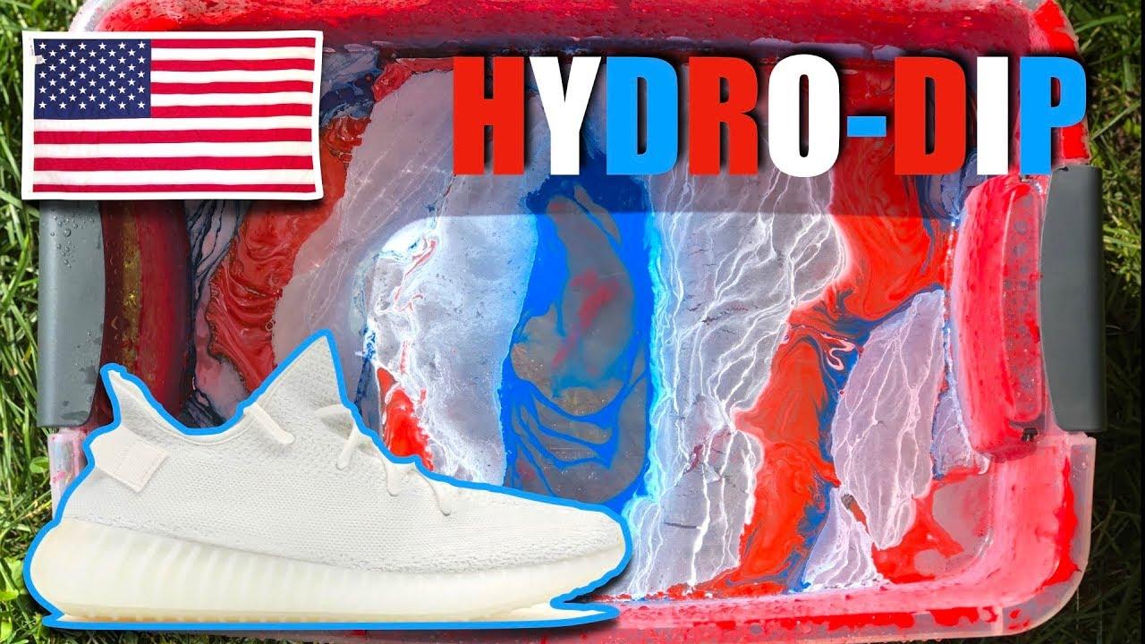 July CUSTOM - Hydro DIPPING YEEZYS