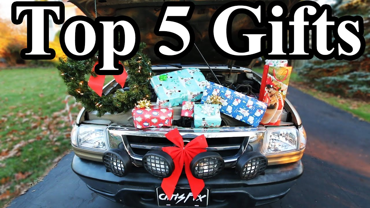 Top 5 Christmas Gift Ideas for Car Guys - YouTube