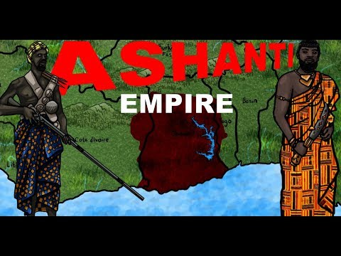 History of the Ashanti Empire , (Ghana Africa)