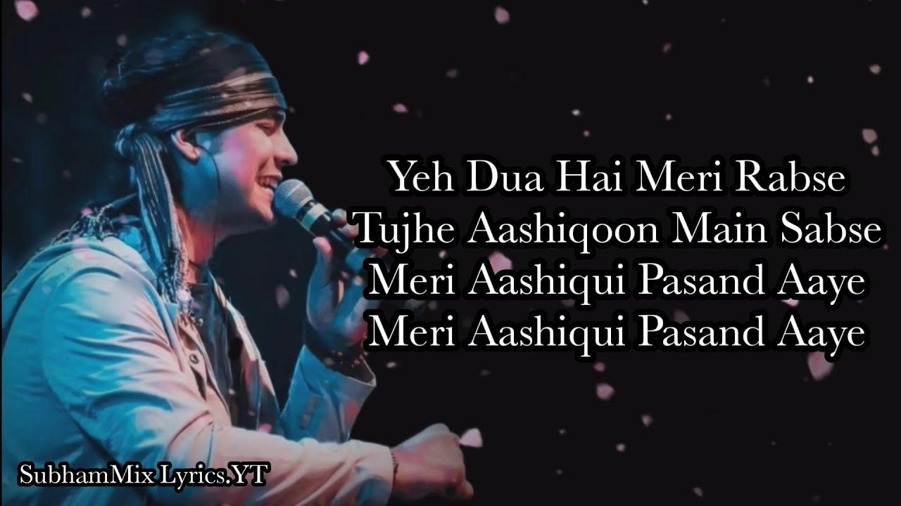 Download Meri Aashiqui (LYRICS) - Jubin Nautiyal  Rochak Kohli  Ihana Dhillon,Altamash Faraz SubhamMix Lyrics