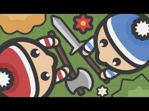 網頁版吃雞!超級簡單的大逃殺遊戲! - Foes.io - YouTube