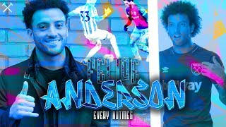 EVERY FELIPE ANDERSON NUTMEG IN THE PREMIER LEAGUE