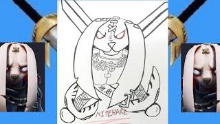 Easy Way To Draw Nitehare Fortnite Skin