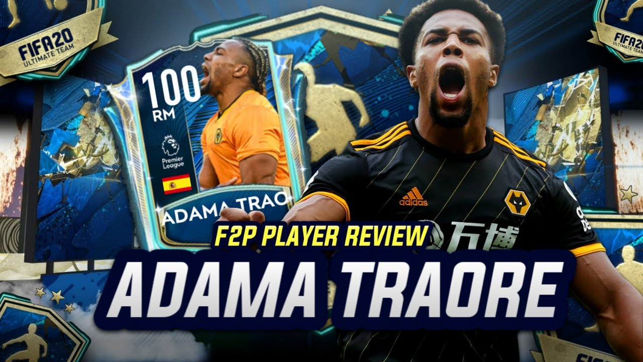 Wolves Adama Traore Handed Ridiculous Team Of The Season Card On Fifa 20 Givemesport