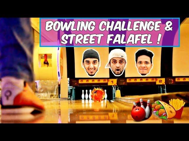 Bowling Challenge & Street Falafel l The Baigan Vines