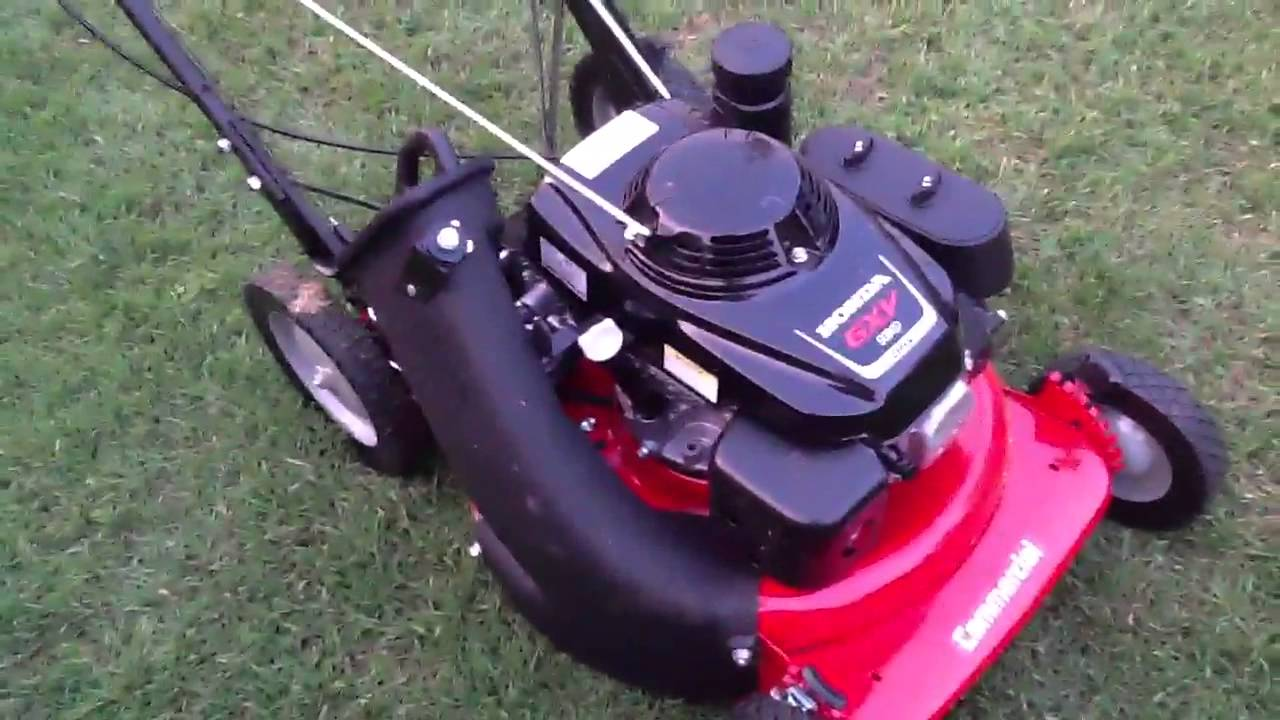 Snapper 21 Inch Commercial Mower Review Youtube