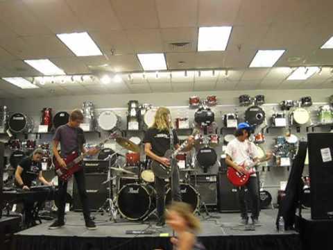 ROCKamp 2012 - Sam Ash Music in Torrance ( 1 & 2 )