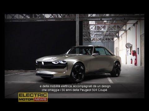 Peugeot E Legend Concept L Autonoma Elettrica Del Leone Electric