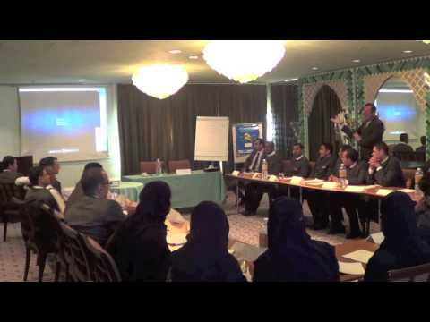 Al Faisaliah Hotel: Butler Training 2013 with Mr. Robert Watson