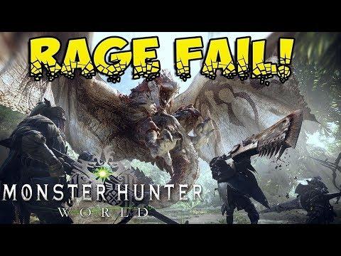BARROTH RAGE! Monster Hunter World Beta!