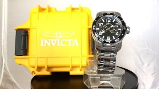 Invicta 17495SYB Pro Diver Analog Display Japanese Quartz Silver Watch
