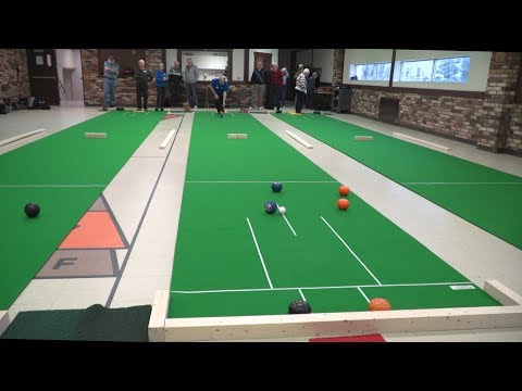 Indoor Lawn Bowling