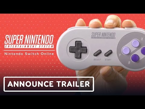 Nintendo Switch Online: SNES Games and Controller Announcement