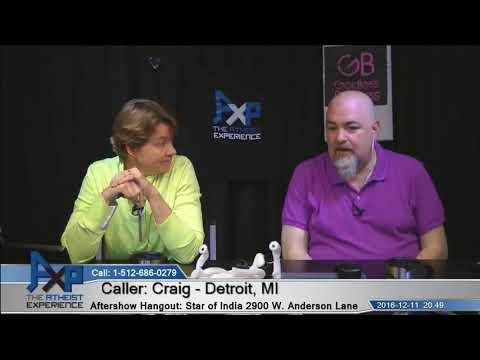 Holidays with Pastor Uncle   Craig – Detroit, MI   Atheist Experience 20.49
