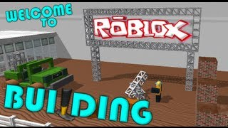 Roblox for noobs How to bulid ?