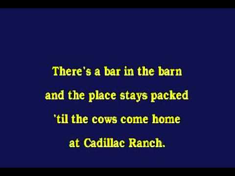 Jv0073 08   Ledoux, Chris   Cadillac Ranch [karaoke]